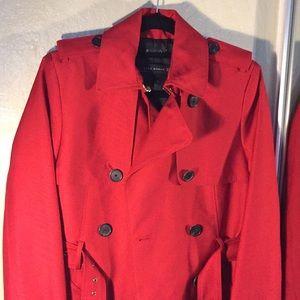 Zara Jackets & Coats - Zara women's red trench coat
